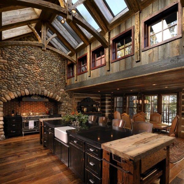 land-küche   windows   pinterest   design, haus und bauerhöfe - Land Küche