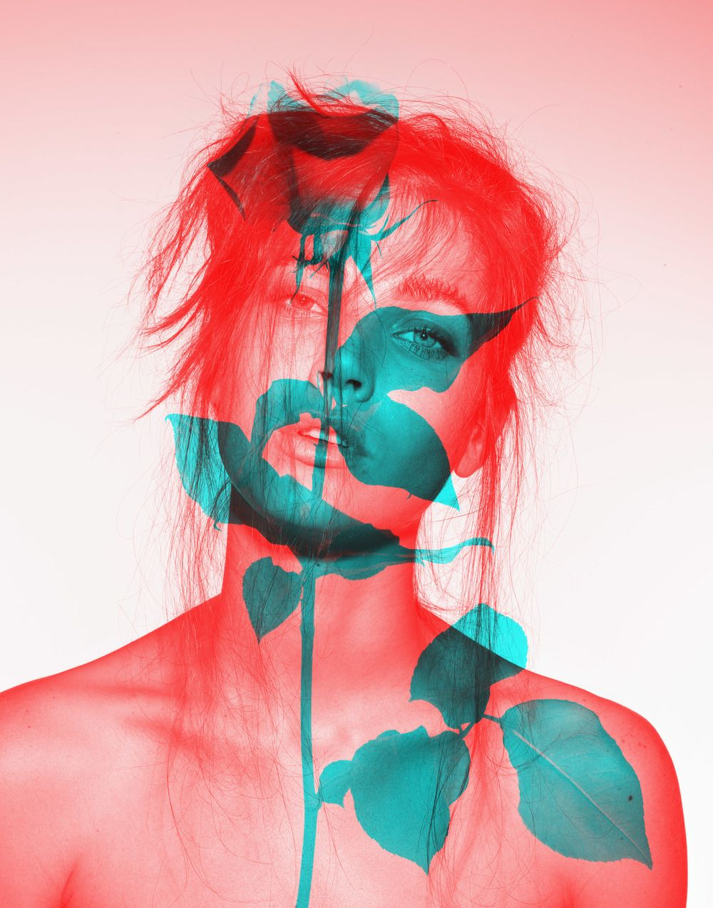 Anaglyph Beauty; Dan Forbes | VIEWPOINTS//ART AS | Pinterest