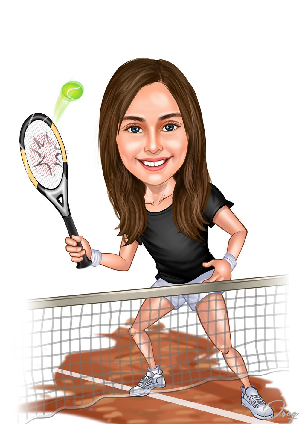 Girl Tennis Cartoon Character Girl Cartoon Characters Girl Cartoon Cartoon