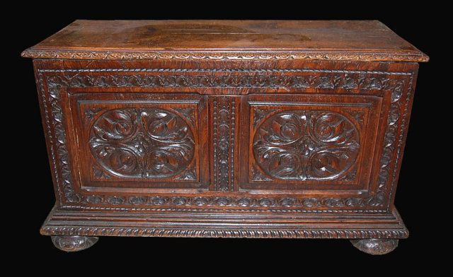 Antique French Blanket Chest
