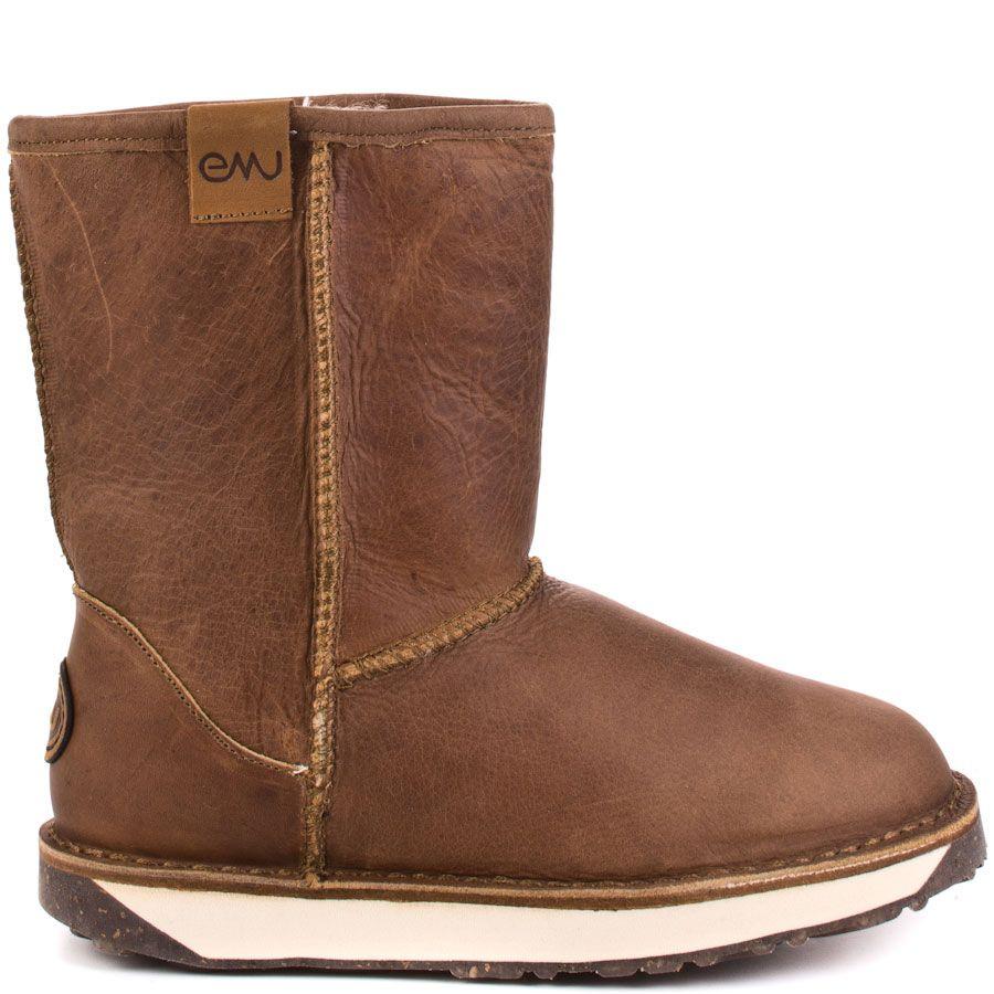 a28aef62e4 Hobart heels Vintage Brown brand heels EMU Australia | Boots | Emu ...
