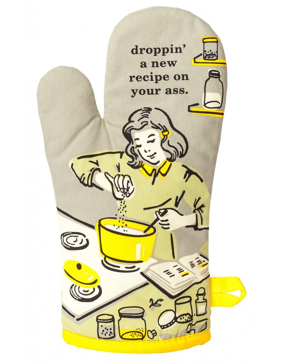 Droppin\' A New Recipe On Your Ass Oven Mitt   Gift
