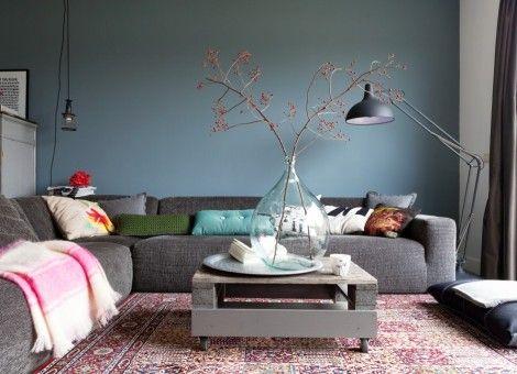 Woonkamer Eclectisch Inrichten : Modern en opvallend de woonkamer eclectisch inrichten interior