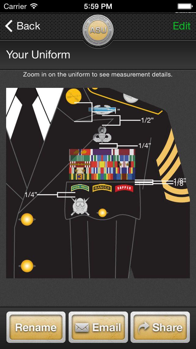 iUniform ASU - Builds Your Army Service Uniform | patch