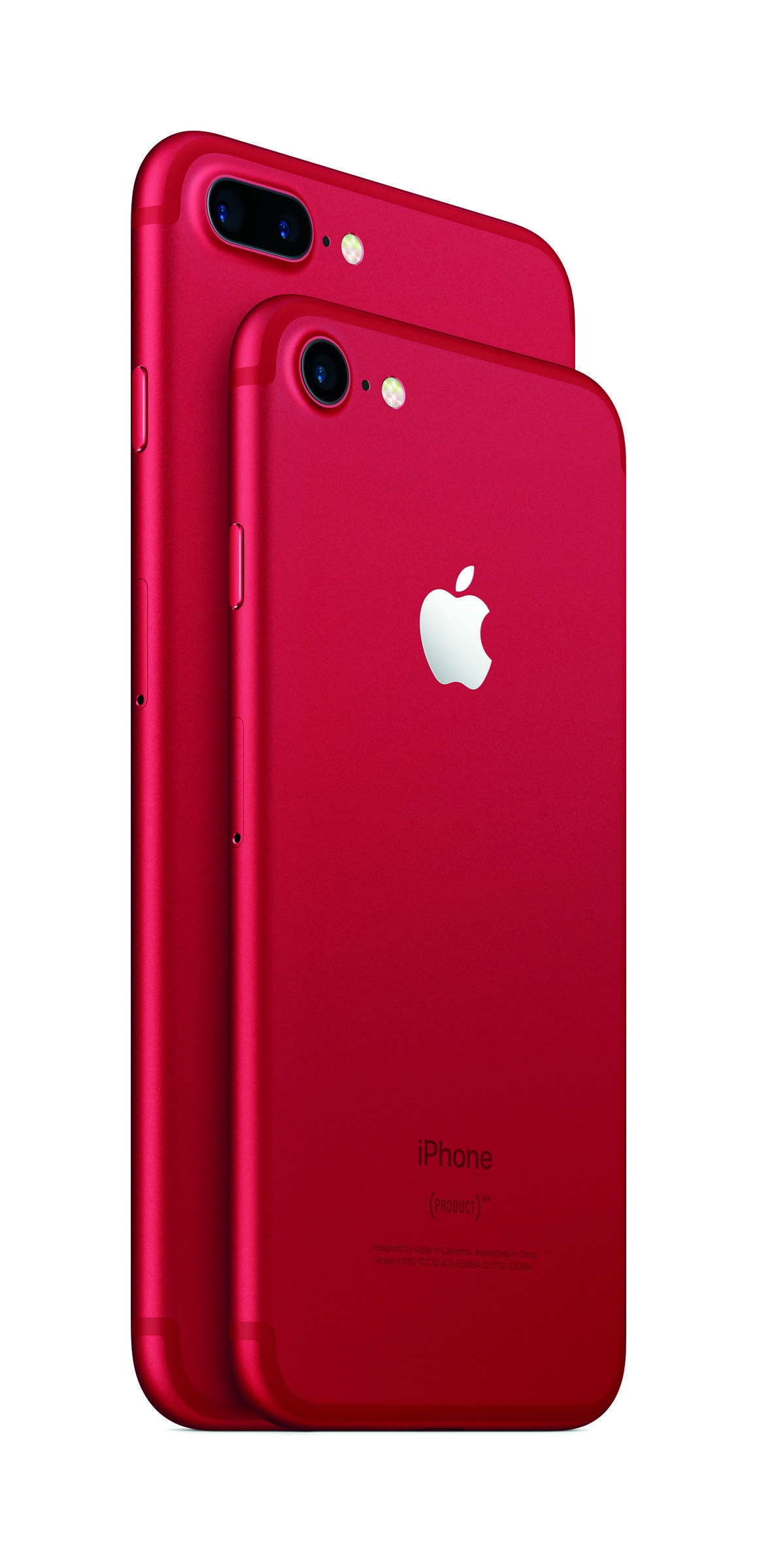 Apple Launches Red IPhone 7