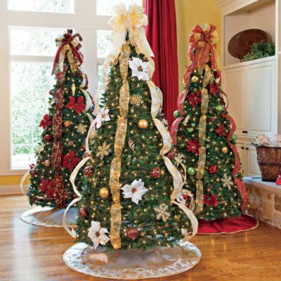 6 1 2 Pull Up Christmas Tree Pull Up Christmas Tree Holiday Decor Christmas Christmas Decorations