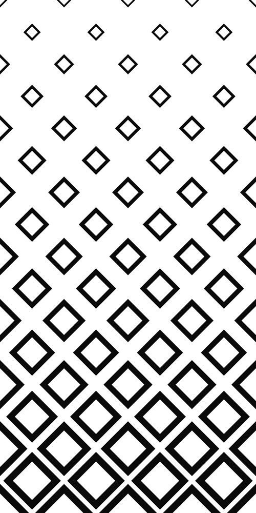 Seamless Monochrome Square Pattern Background Minimalist Pattern