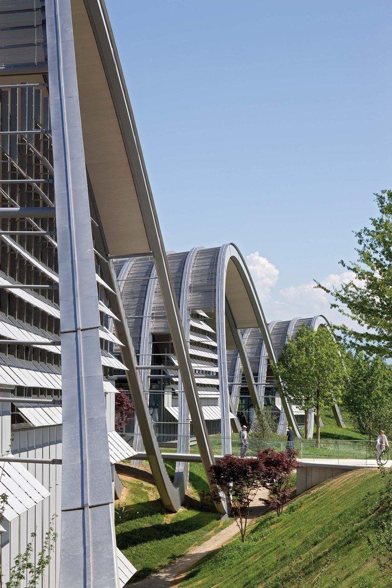 Zentrum Пауль Клее, Берн, 2005 - RPBW - Ренцо Пьяно Строительство Семинар