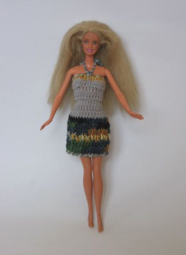 Patrones Vestidos Tejidos Crochet Para Barbie Wallpapers Real 2 Hd