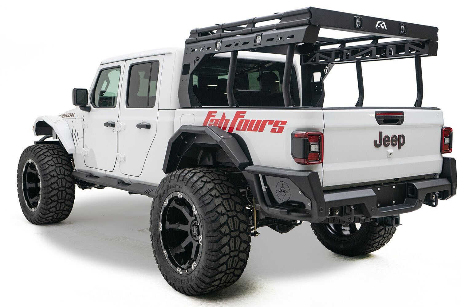 Fab Fours Overland Rack For 2020 Jeep Gladiator Jt Jeep Gladiator Jeep Jeep Wrangler Accessories