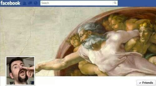 Most creative FB cover photo Ever! Lol