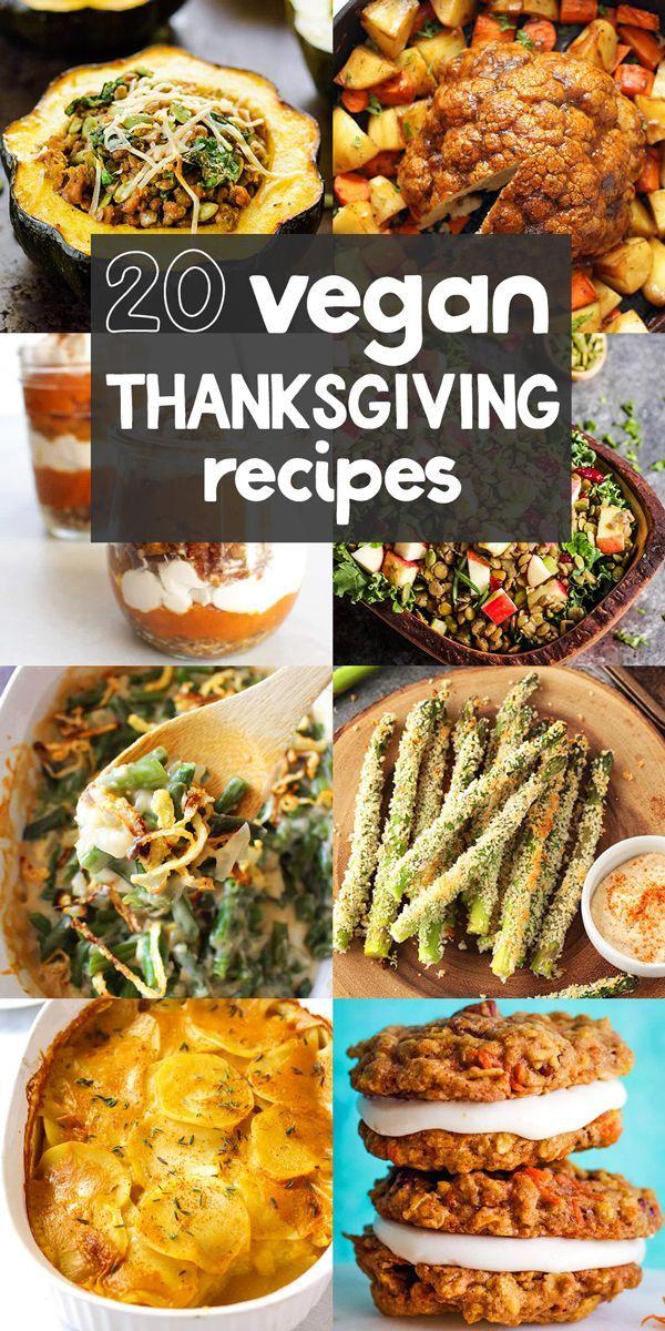 20 vegane Thanksgiving Rezepte, die jeder lieben wird! #veganthanksgiving #vegan