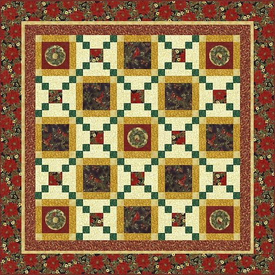 Holiday Magic Quilt Kit | Christmas Quilts | Pinterest | Winter quilts : magic quilt kits - Adamdwight.com