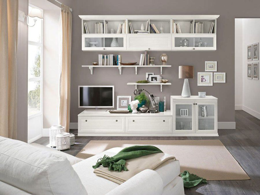 Soggiorno Classico Bianco: 20 Idee per Arredare con Classe | Lounge ...