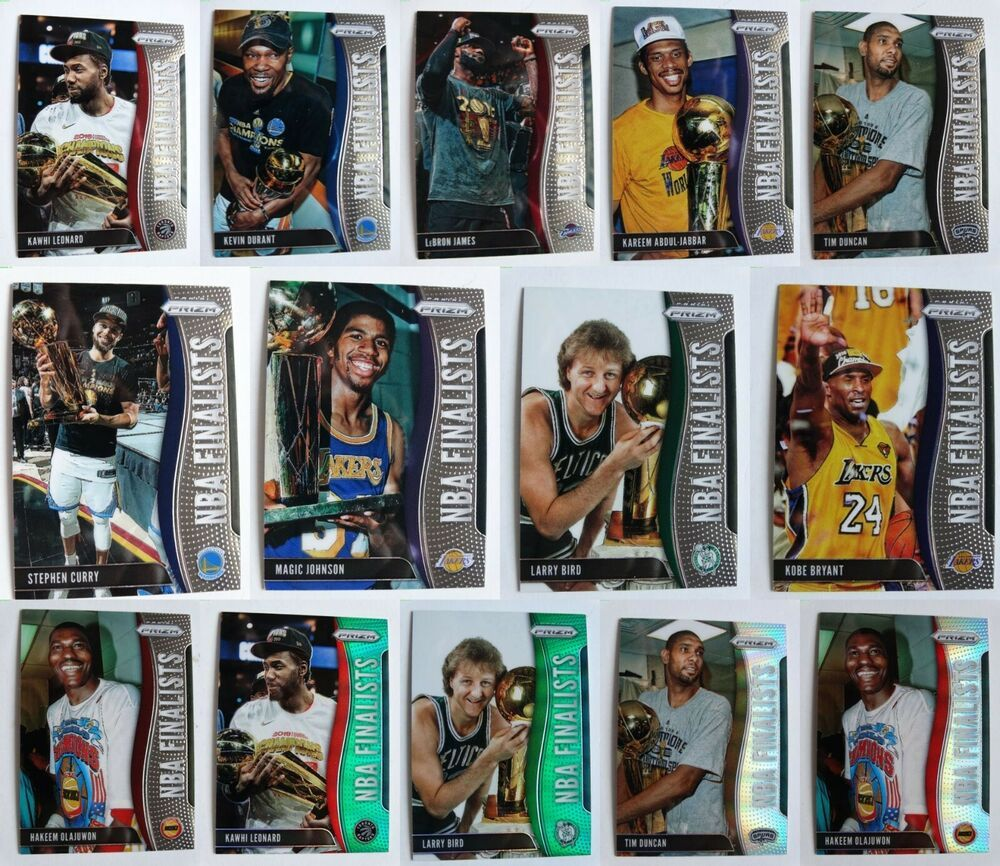 201920 prizm nba finalists basketball cards complete your