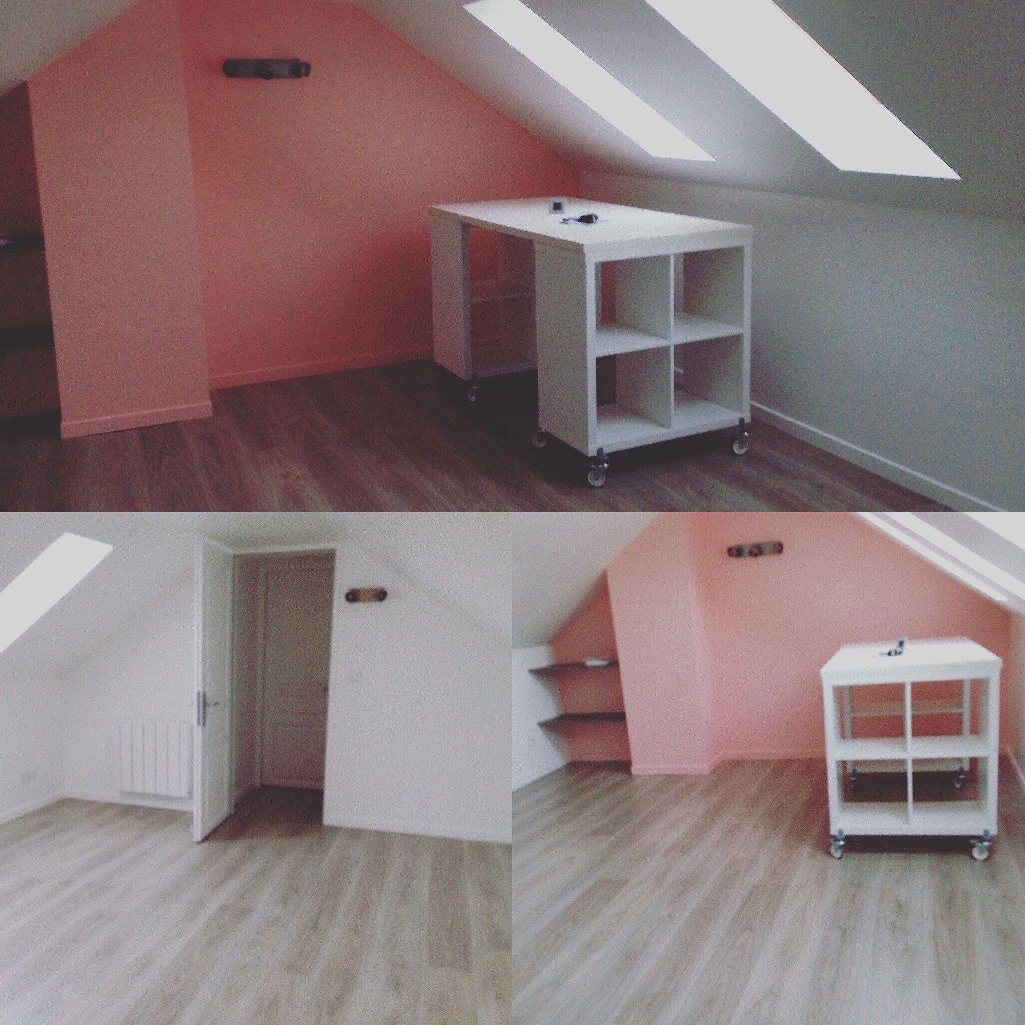 the table de coupe est finie il n 39 y a plus qu 39 am nager atelier couture pinterest th s. Black Bedroom Furniture Sets. Home Design Ideas