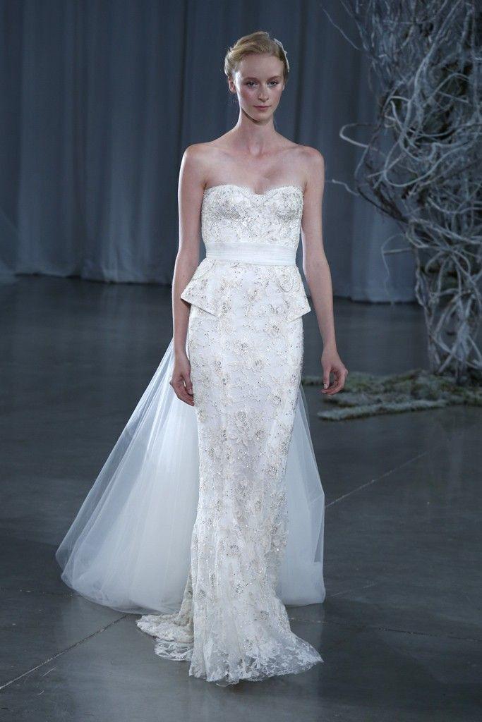 Monique Lhuillier Opulence Wedding Dresses Fall Wedding