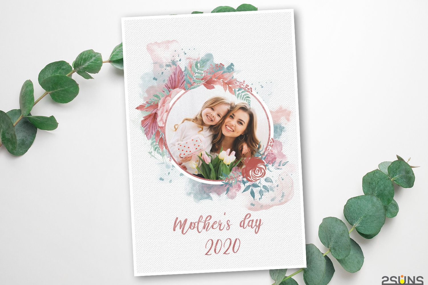Mothers Day Template Mothers Day Card Photoshop Clipping Etsy Photoshop Template Photography Marketing Boards Photoshop