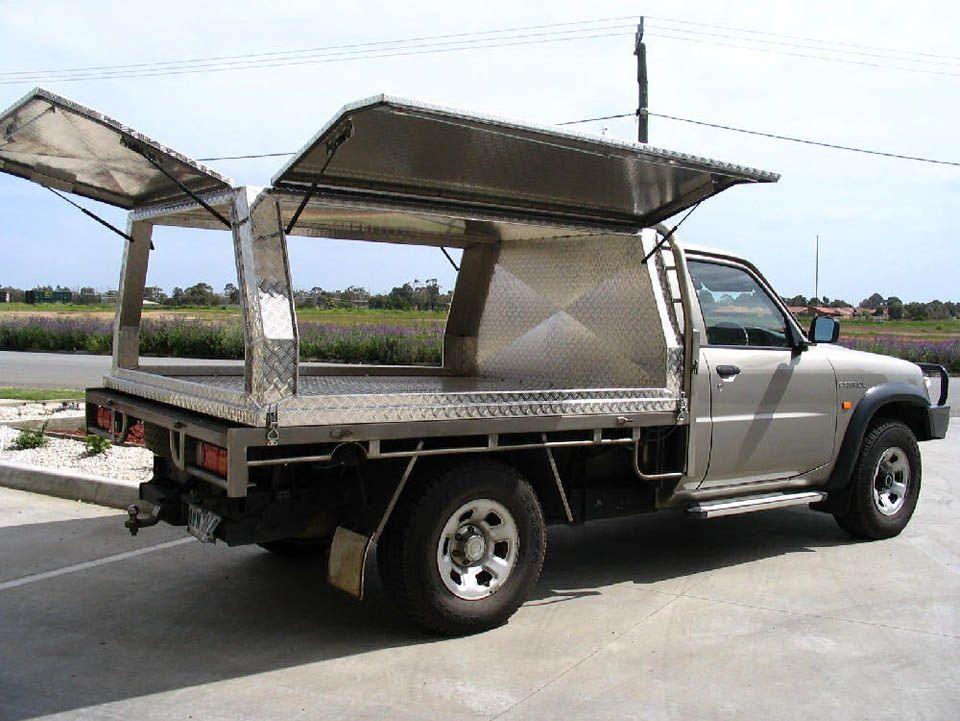 Three door aluminium canopy on Nissan Patrol - No.30 & Three door aluminium canopy on Nissan Patrol - No.30 | Shop ...