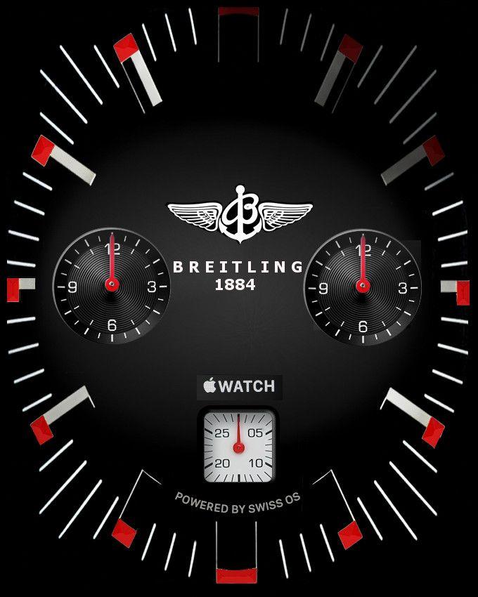 ade8b4d7220 Apple Watch Face - Breitling . chrono