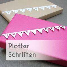 "Photo of Plotter-Schriftarten ""KUGELIG Stencil"" und ""KUGELIG Garland"" – kugelig.com"