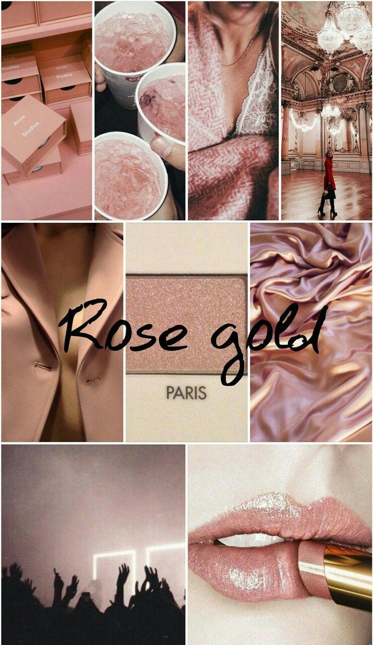 Sɯɛɛŧǹɛss Rose Gold Aesthetic Gold Color Scheme Gold Wallpaper Iphone