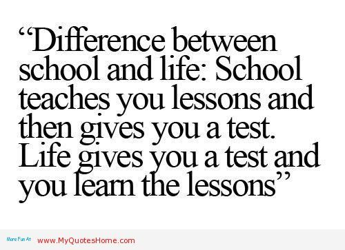 Quotes About Life Lessons Life LessonsInspirational Quotes Fascinating Lesson In Life Quote