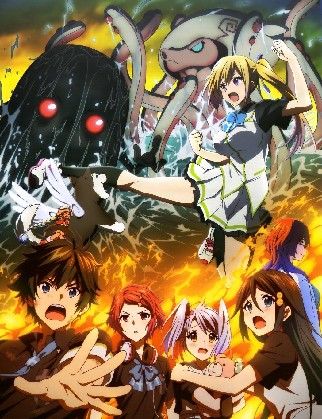 Musaigen No Phantom World : musaigen, phantom, world, Latest, Musaigen, Phantom, World, Visual, Looks, Movie, Poster, Haruhichan, Anime,, Anime, Movies