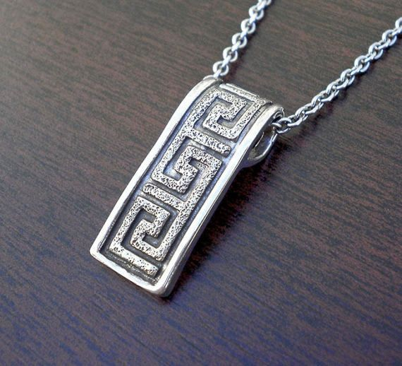 Silver necklacegreek key necklacemens silver necklacegreek symbol silver necklacegreek key necklacemens silver necklacegreek symbol necklacesterling silver mens pendantmeander necklacegreek necklace aloadofball Images