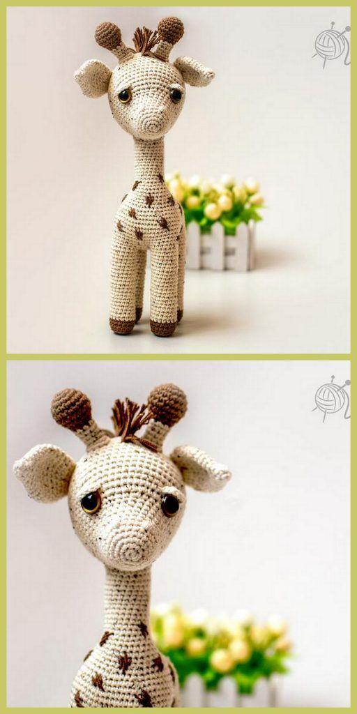 Amigurumi Giraffe - Free Crochet Pattern   1024x512