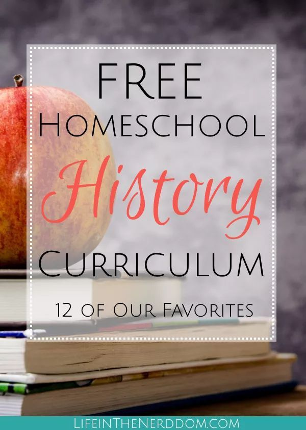 Photo of Free Homeschool History Curriculum – Life in the Nerddom