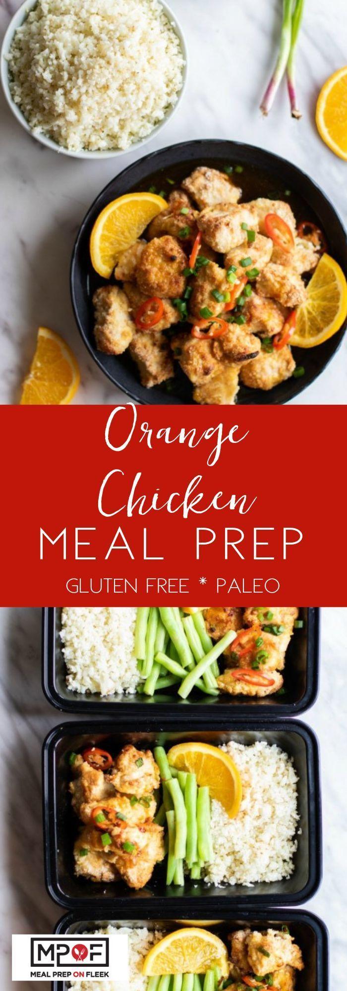 Orange Chicken Meal Prep Orange Chicken Meal Prep