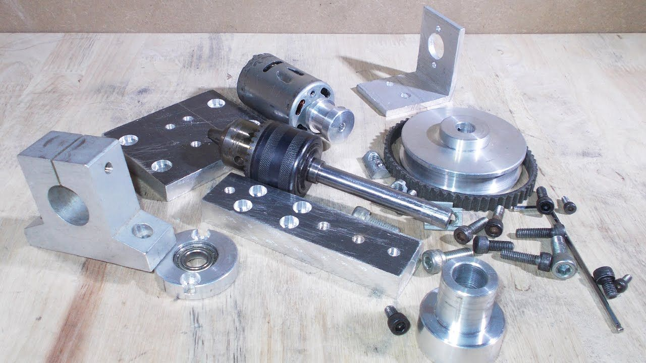 Diy Cnc Mill Spindle