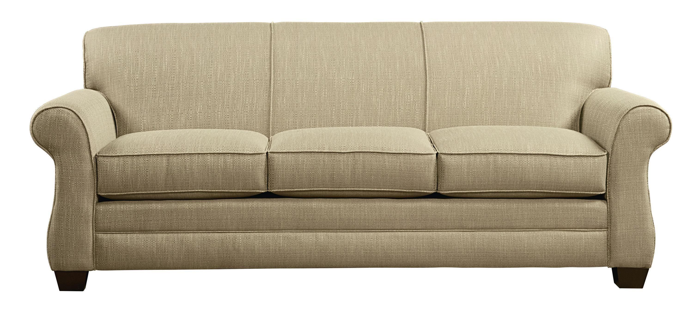 Maverick Flax Sofa Sleeper By Bassett Mattress Furniture