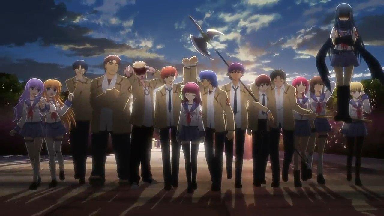 Pin by Rabbi on angel beats in 2020 Rekomendasi anime