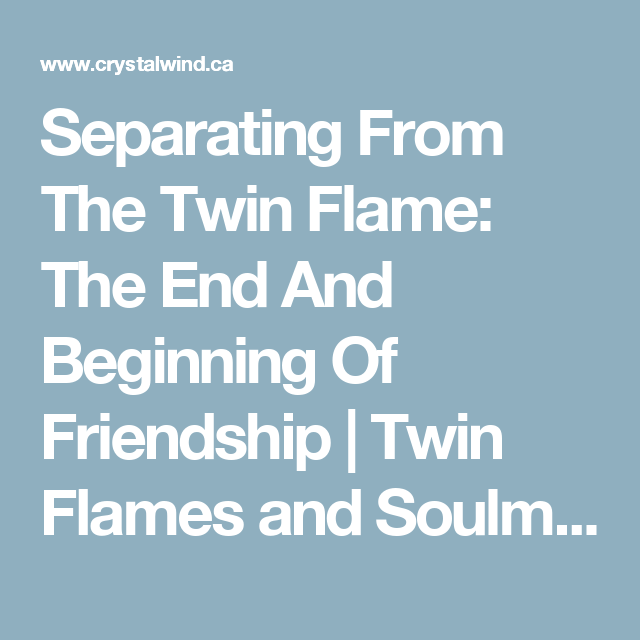 What happens when soulmates are separated