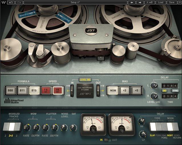 Abbey Road J37 Plugin Waves Audio Waves Plugins Audio