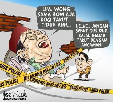 Kumpulan Gambar Meme Humor Gusdur Karikatur Paling Lucu Mantan