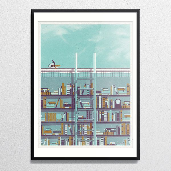 DKNG » Store » Library (Framed) $150