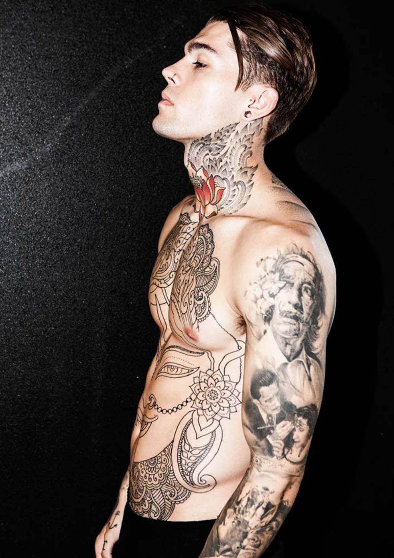 Stephen James Elite Model Tattoos