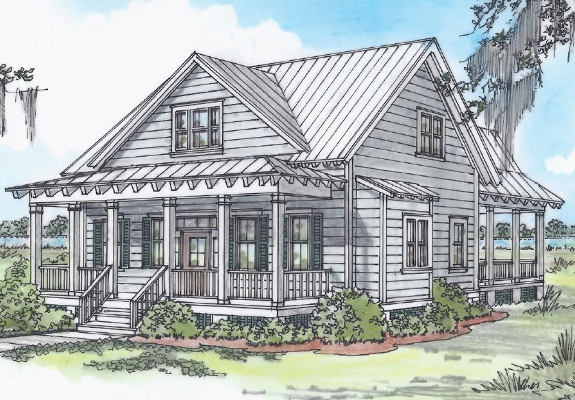 Pinckney Retreat Project From Allison Ramsey Architects S Model Homes Collection Model Homes Small House Southern Living House Plans