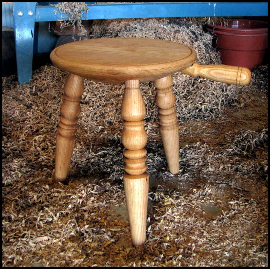 Outstanding Img 5141 2 Woodturning Ideas In 2019 Milking Stool Pabps2019 Chair Design Images Pabps2019Com
