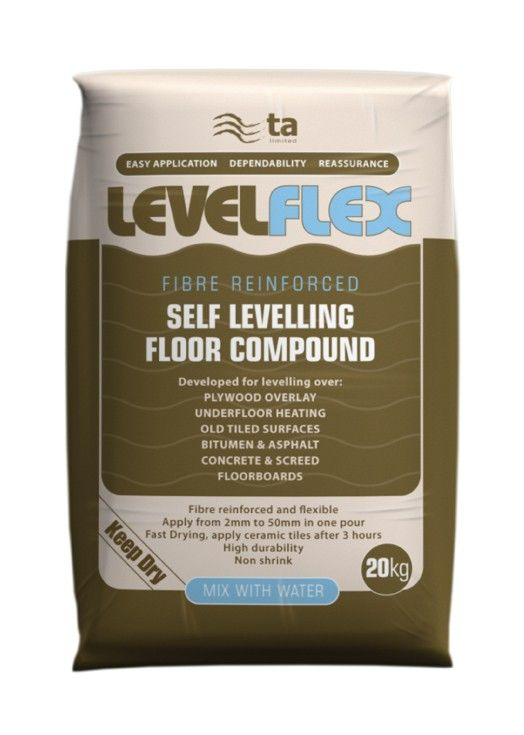 Levelflex Grey Compound 20 Kg Tiling Preparation Interior Design Ideas Tiles And Bathrooms Floor Finishes Underfloor Heating Flooring