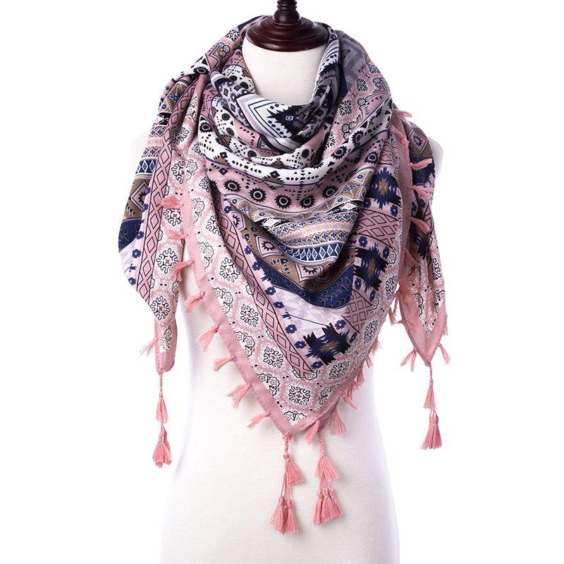 Purple Fashion femmes longue écharpe Wrap Ladies Shawl Girls Silk Scarves