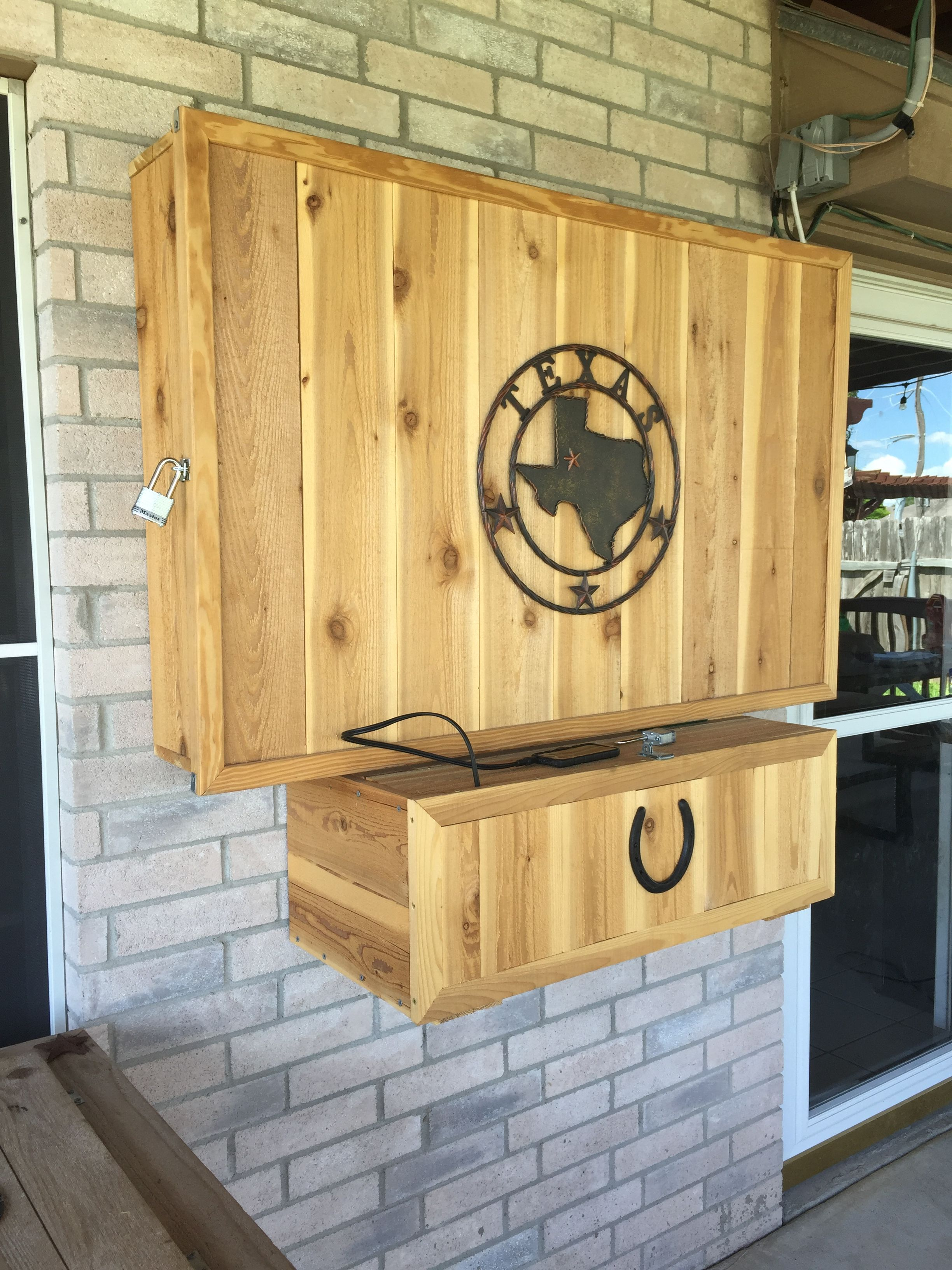 Diy Tv And Receiver Cabinet Outdoor Tv Cabinet Diy Outdoor Kitchen Tv Cabinet Diy