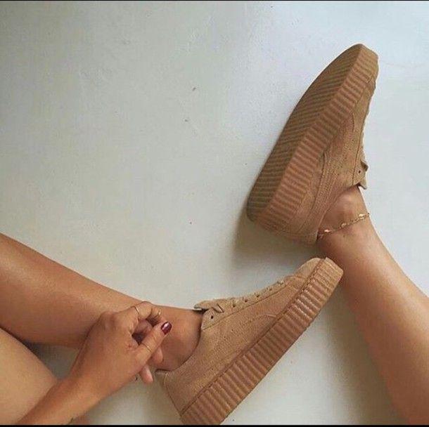 Puma X Rihanna Beige