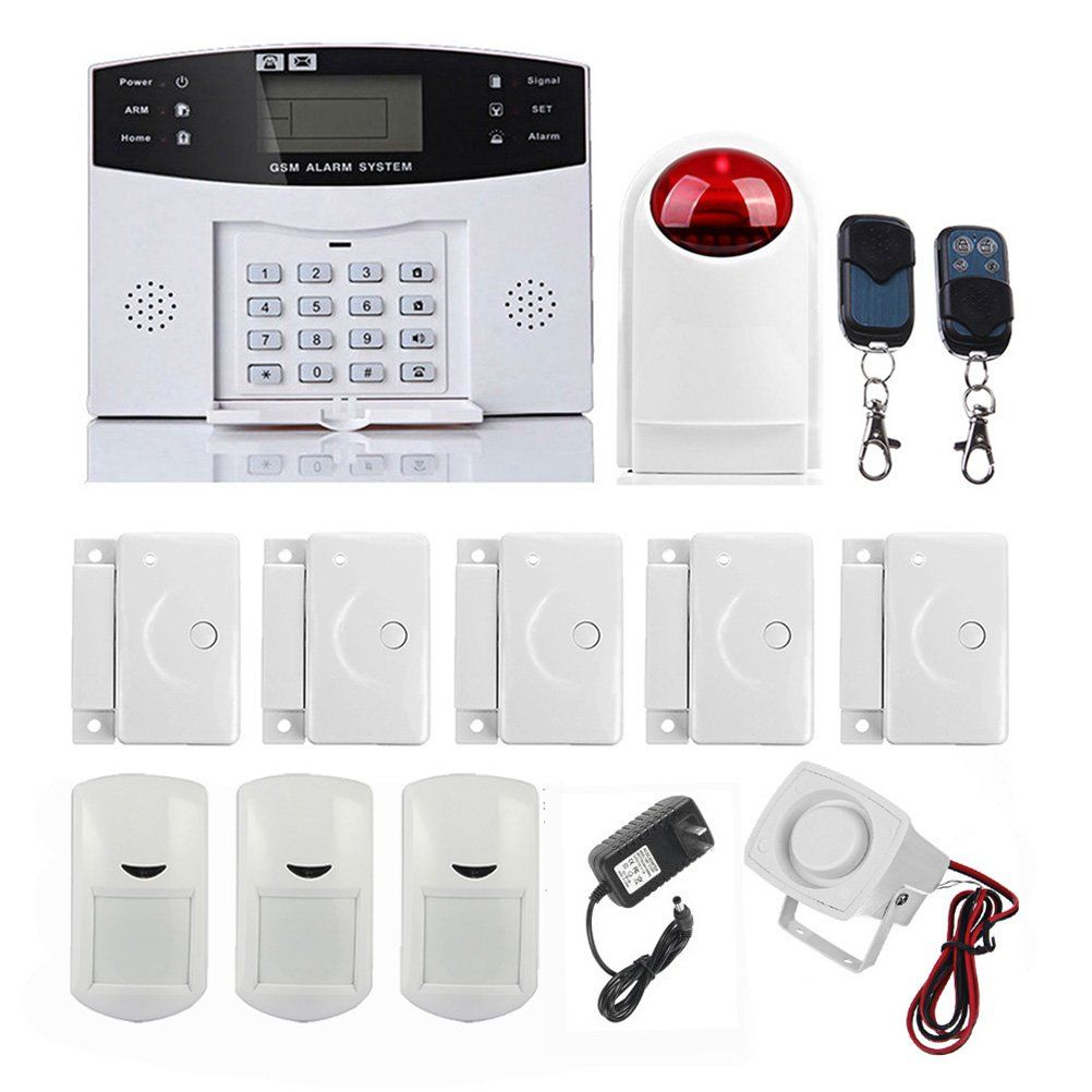 Autodial Alarm Home Security Systems, GSM/SMS Wireless Alarm Kits ...