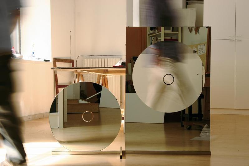 Luciano Fabro - Tondo e rettangolo [Circle and Rectangle] - 1964