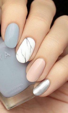 22 beautiful spring nail art designs