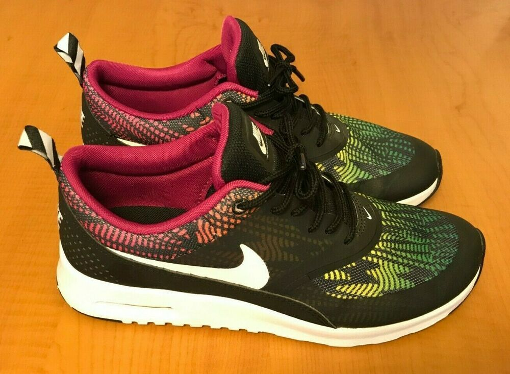 Excellent Condition! Nike Air Max Thea Multi Color WN Sz 8.5